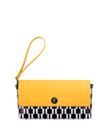 Signature-CB-Clutch-Yellow-Short-Handle-Front-Compressed